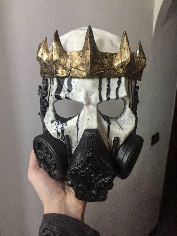 NUCLEAR KING (Resin Full-Face Skull Gas Mask)