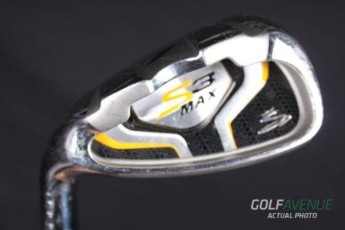 Cobra S3 Max Iron Set 4-PW Stiff Left-Handed Steel Golf Clubs #2133