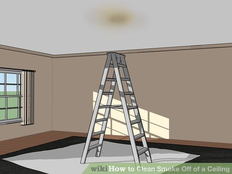 How To Clean Smoke Off Of A Ceiling Clean Fireplace Ceiling Cleaning