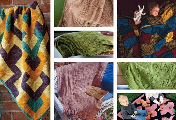 7 Free Knitted Blanket & Afghan Patterns | Knitted afghans ...