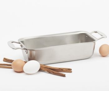 Stainless Steel Loaf Pan by 360 Cookware | 25% OFF through May 11th! // Mother's Day Gift Ideas