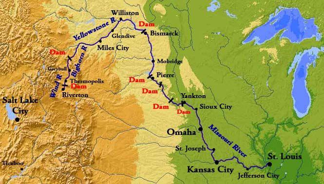 Missouri River Map BOOK A Score To Settle Pinterest Books - Missouri river on world map