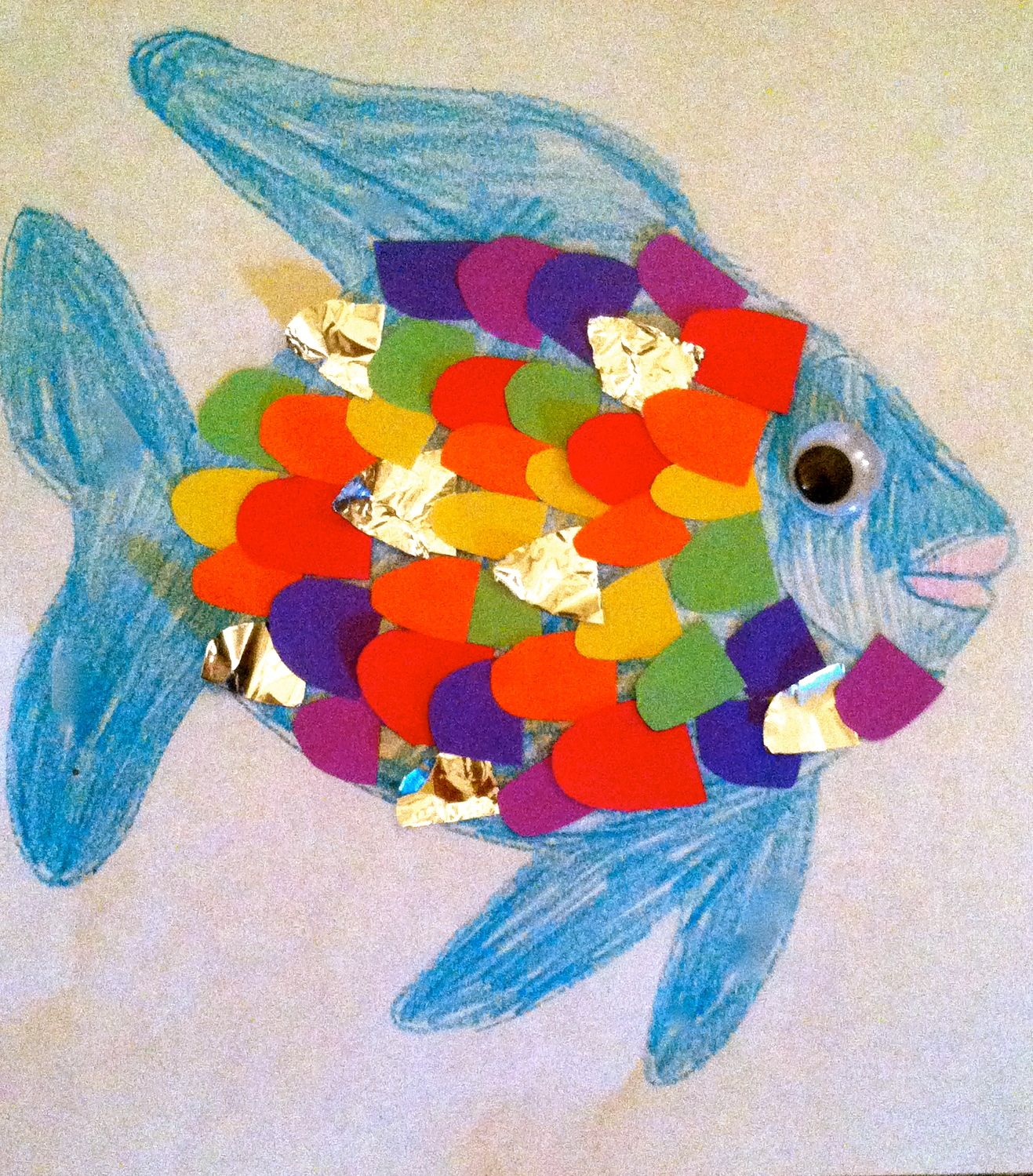 Order All Materials To Make This Rainbow Fish Plus A Copy Of The Book From Barnyard Book Club