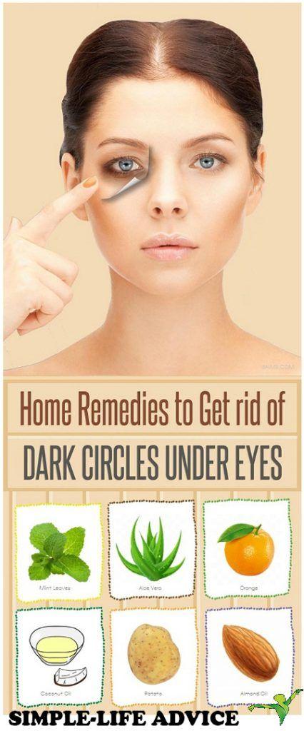 How To Get Rid Of Dark Circles Naturally!!! | Dark circles ...