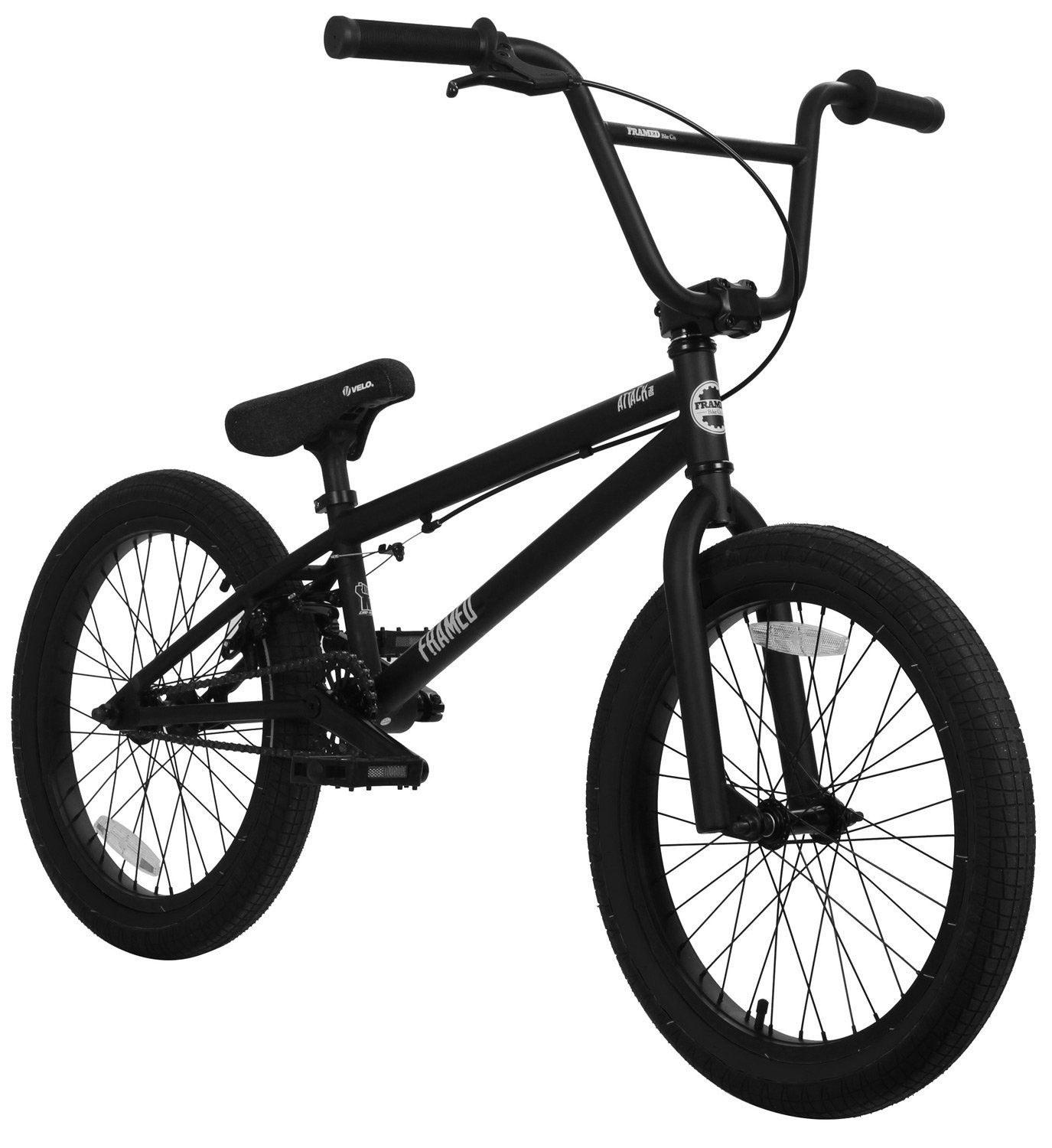 Framed Attack Pro Bmx Bike Black Black Sz 20in Check Out This
