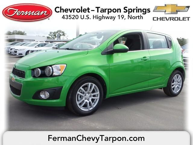 2015 Chevrolet Sonic Hatch Lt Auto Dragon Green Metallic