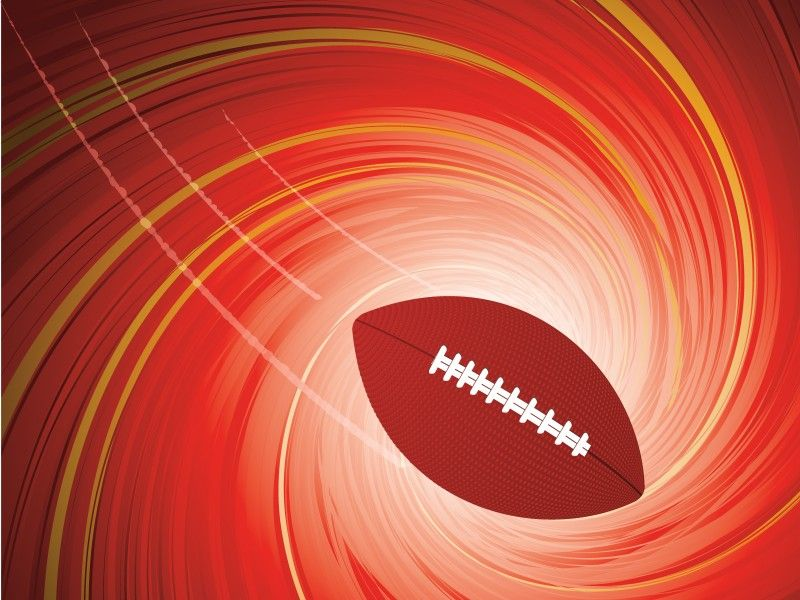 Free American Football Powerpoint Design Is A Football Template