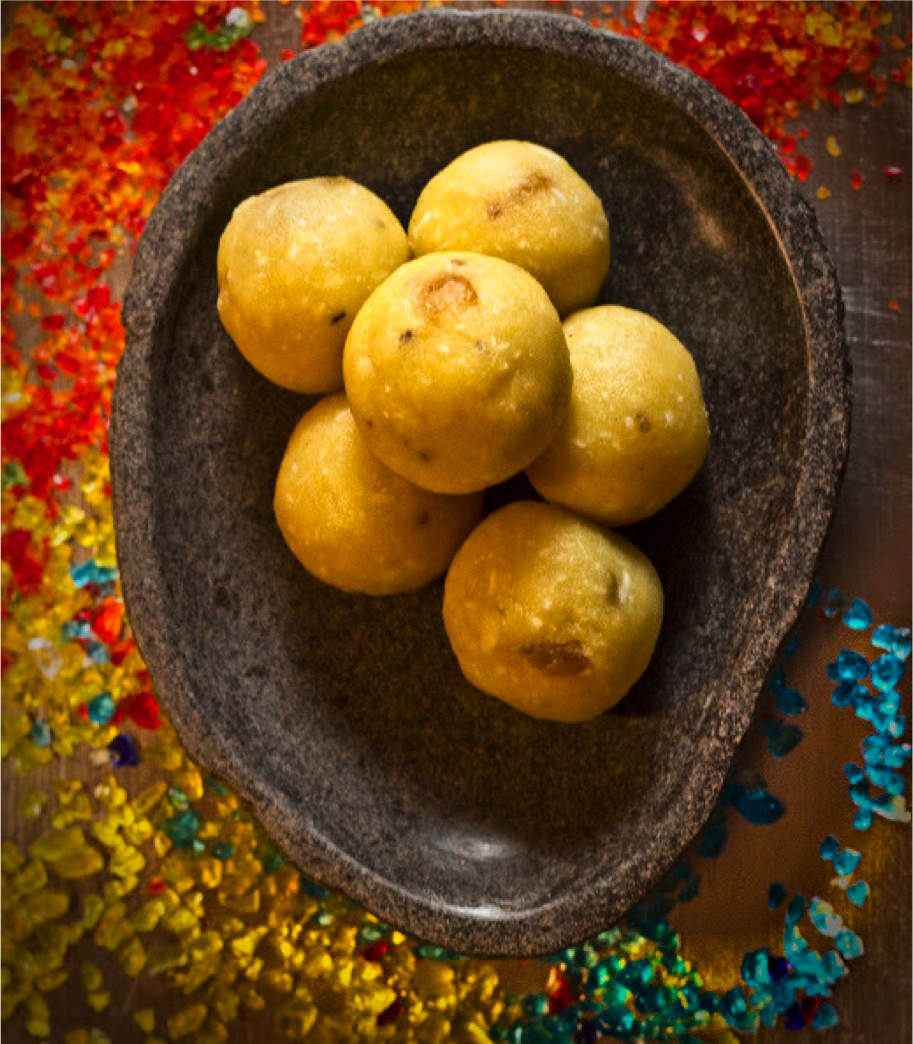 Gojee laddu by the colors of indian cooking sweets treats food forumfinder Images