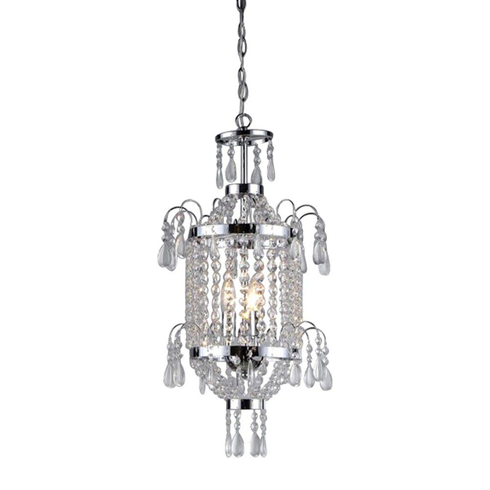 Warehouse Of Tiffany Chandelier Ceiling Lights -Light Silver