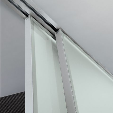 Door Detail By Rimadesio Fully Recessed Sliding Rail Sliding