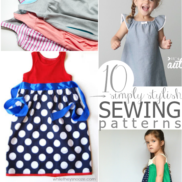 10 Easy Patterns to Sew a Dress for a Girl Around the World   Easy ...