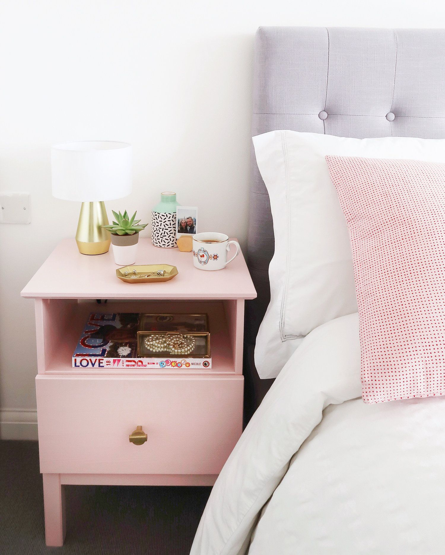 IKEA Tarva Bedside Table Hack