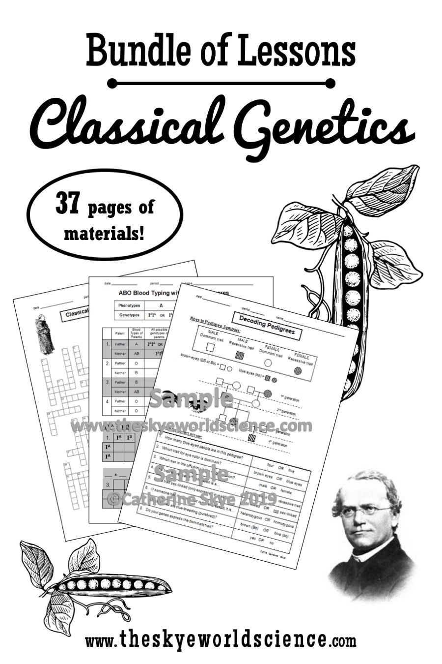 Bundle of Lessons - Classical Genetics and Heredity ...