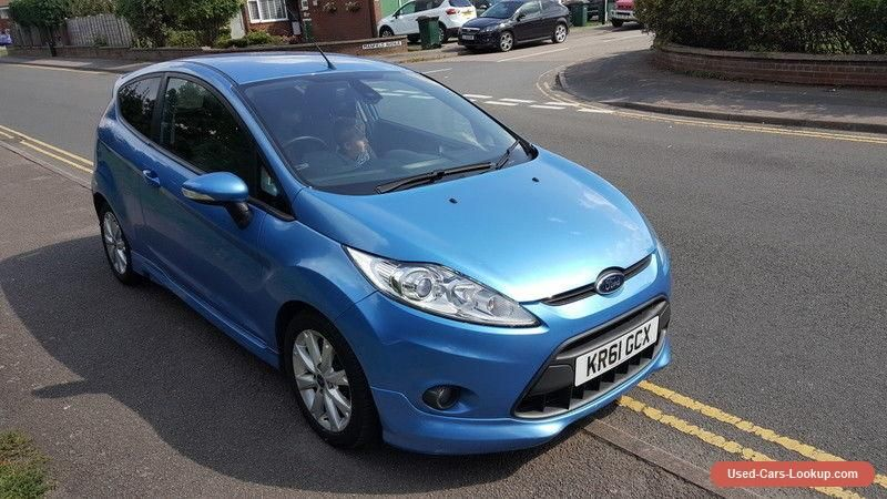 Car For Sale 2012 Ford Fiesta 1 6 Zetec S 3 Door Blue