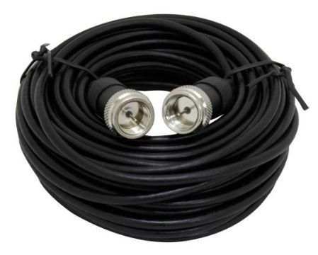GE 23278 25 feet Ultra Thin Coaxial Video Cable - Black by GE ...