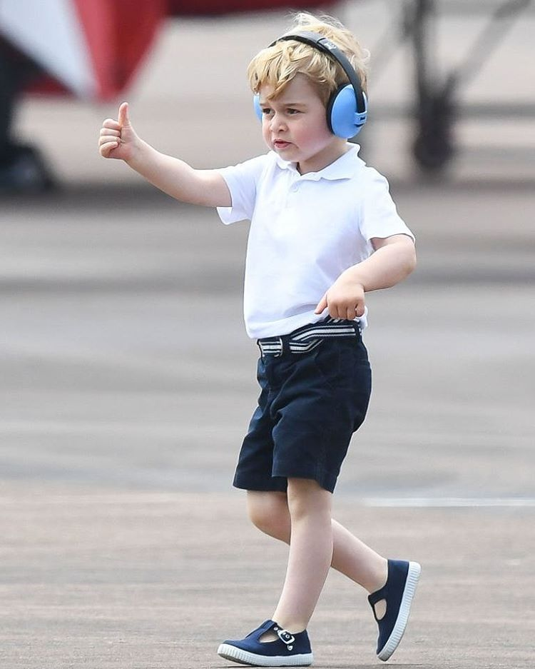 Prince George Attended His First Royal Engagement In The
