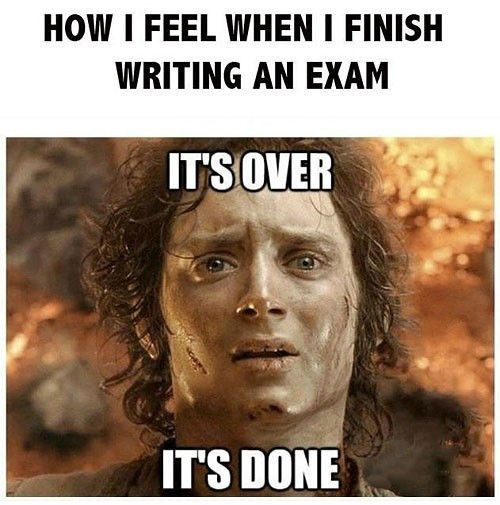Image result for after an exam
