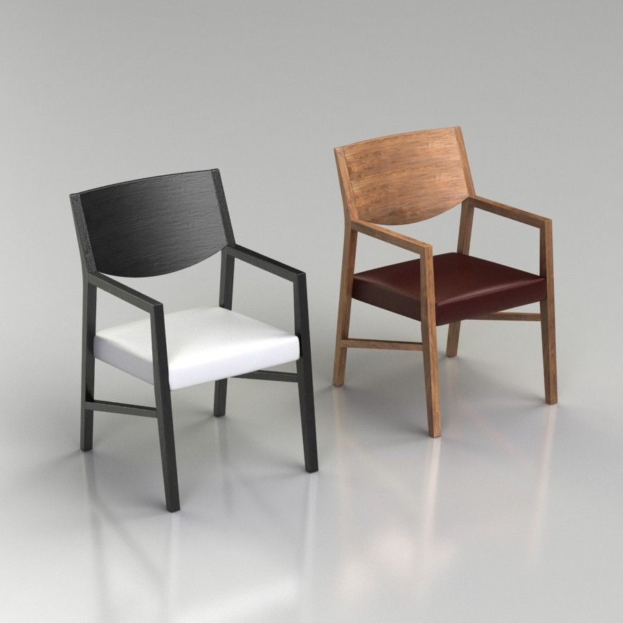 Natuzzi Italia Brera Dining Chair - with Arms 10D Model Files
