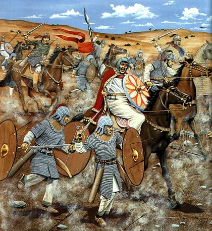 Epic World History Battle Of Yarmuk Byzantine Army History Medieval History