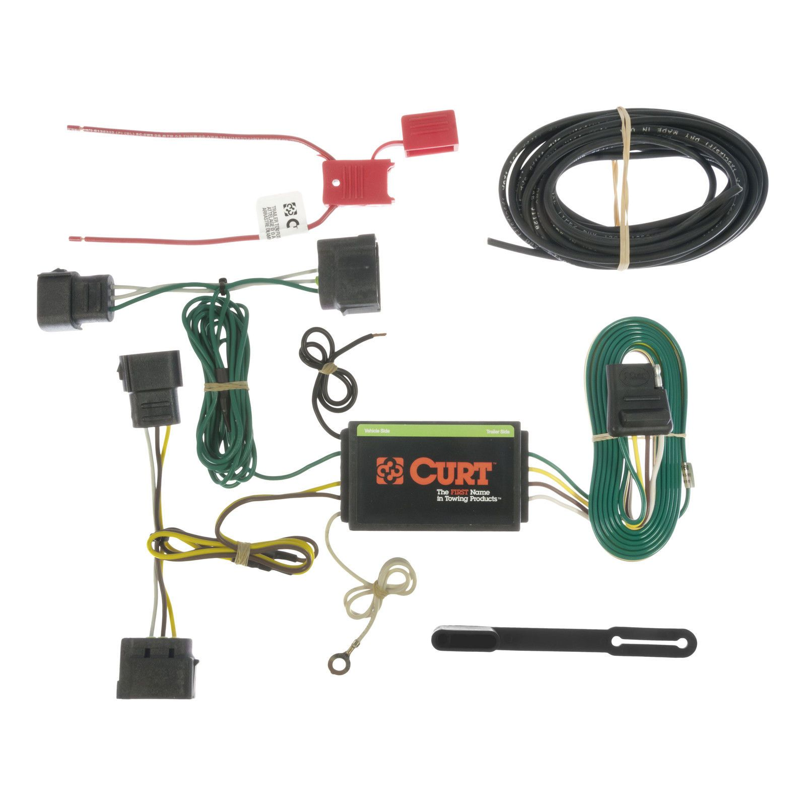 2010 Ford Edge Wiring Harness Diagrams Custom Automotive Kits Curt Vehicle To Trailer 56160 For 2007 Rh Pinterest Ca Truck