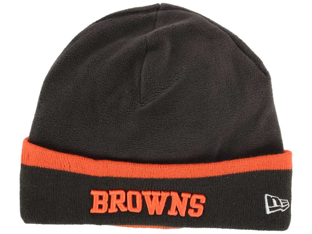 c589d846593 2014 NFL New Era Cleveland Browns Tech Knit Hat On Field Sport Sideline  NWTs Cap
