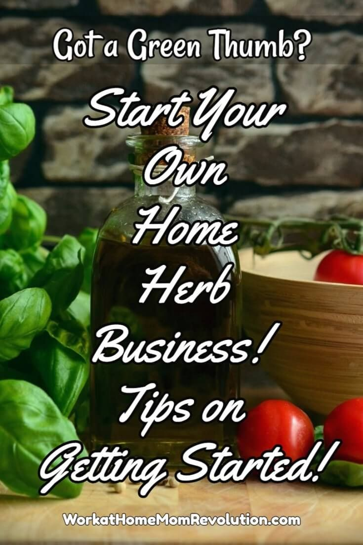Having A Herb Garden And Perhaps Home Based Business Cultivating Herbs For Has Always Been Fantasy Of Mine Resources Tips Available