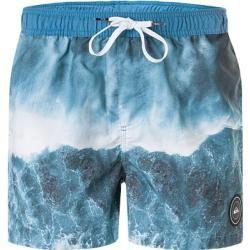 Photo of Quiksilver men's swim shorts, microfiber, blue Quiksilver