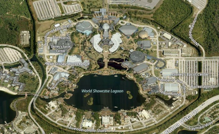 10 off limits areas of walt disney world revealed in aerial images