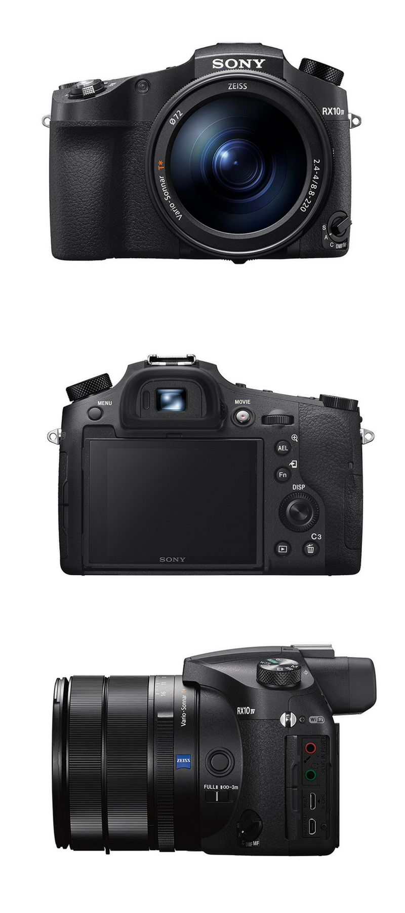 Sony Cyber‑Shot RX10 IV with 0 03 Second Auto-Focus & 25x
