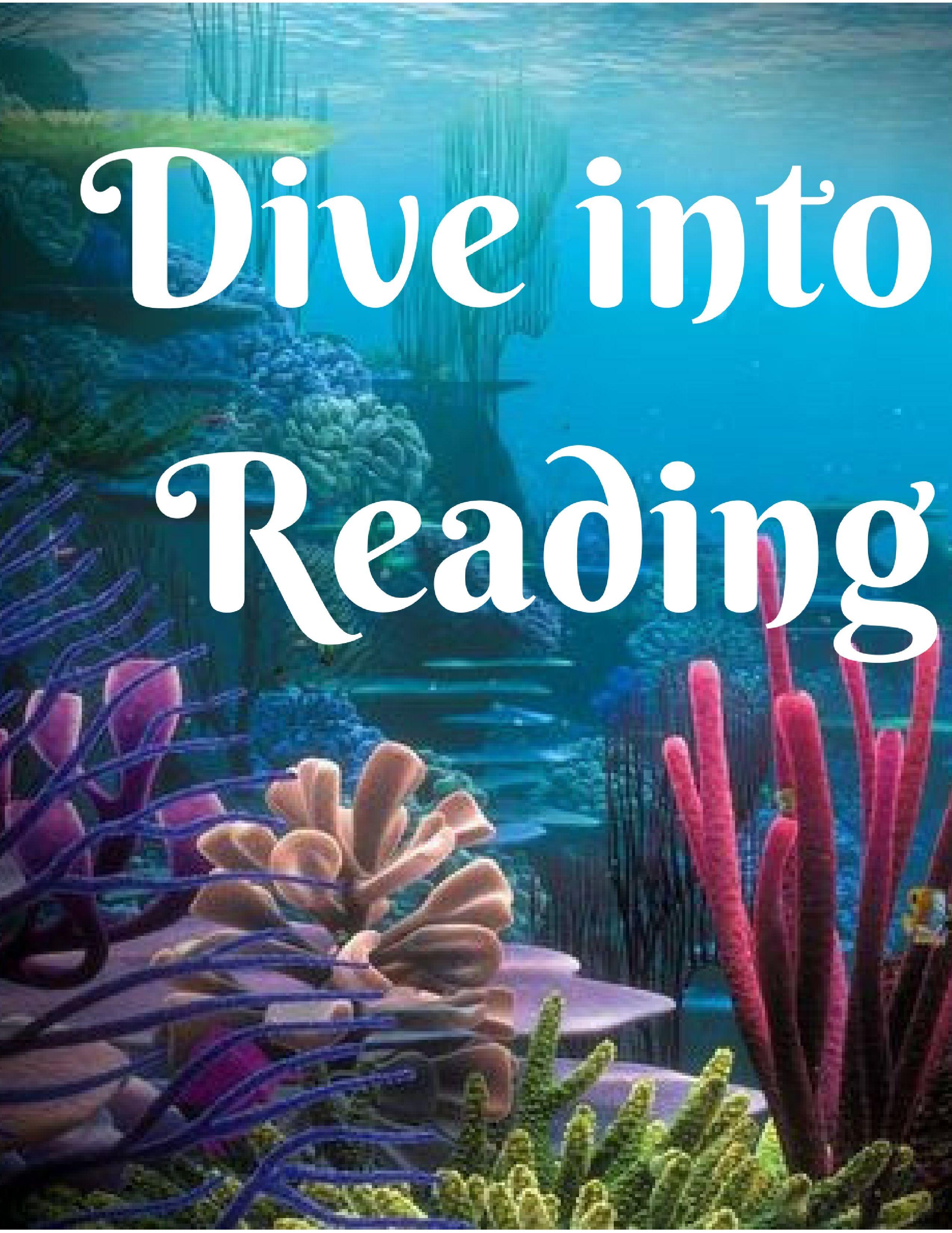 Dive Into Reading Ocean Books Sea Life Fish Sharks