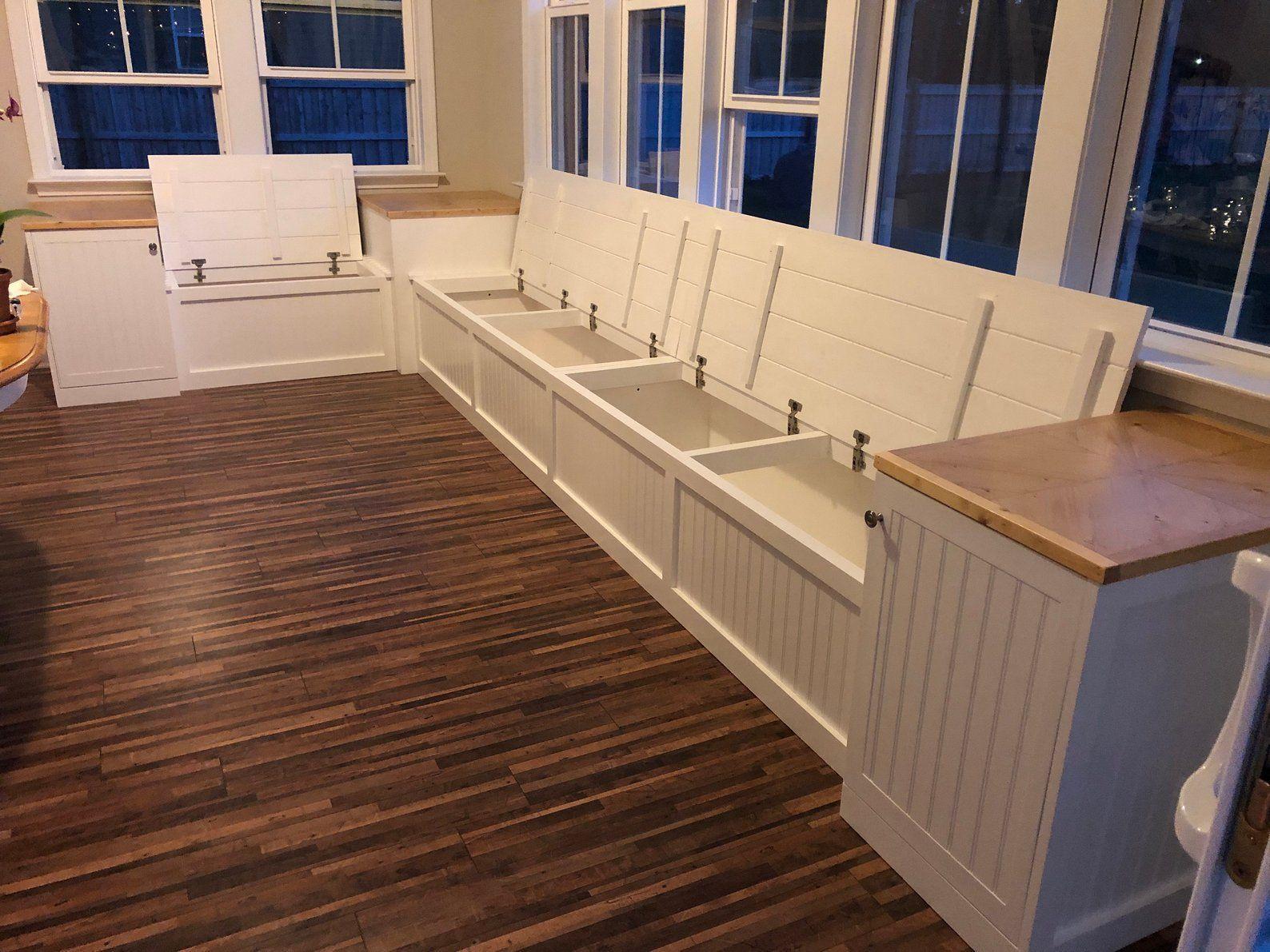 Banquette Corner Bench Kitchen Seating L Shaped Bench Breakfast Nook Kitchen Nook Bench With In 2020 Kitchen Seating Banquette Seating In Kitchen Kitchen Nook