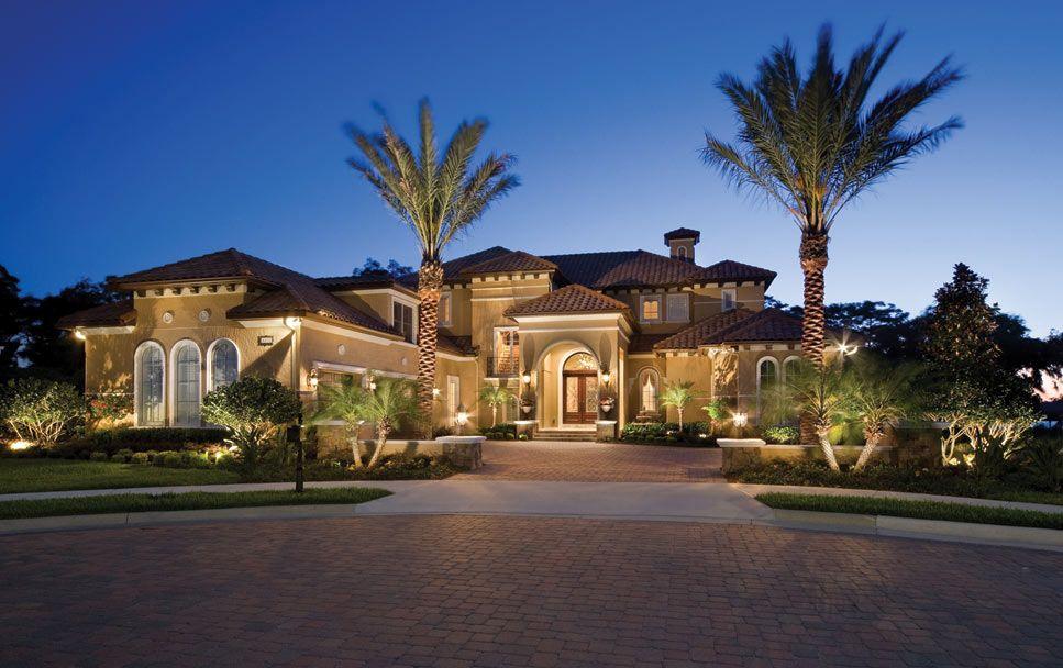 Pictures Of Custom Homes Custom Homes Central Florida Luxury Homes Dream Houses Mediterranean Homes Dream Home Design