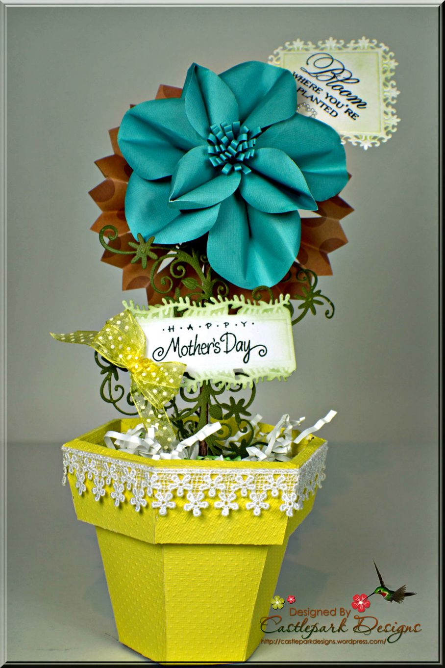Flower Pot And Flower Flower And Craft