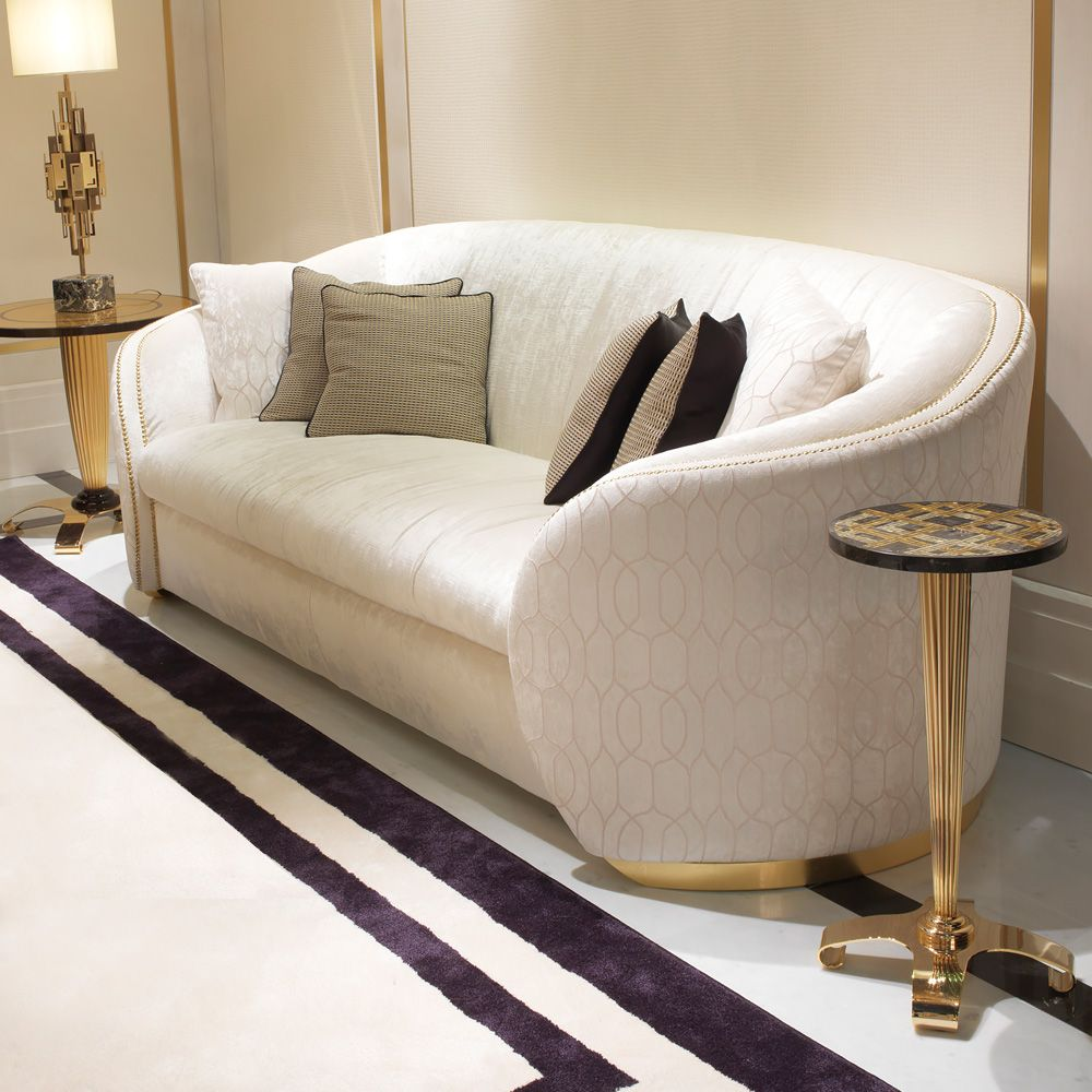 3 Seater High End Modern Designer Italian Sofa