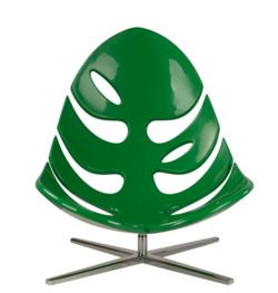 Briggs   You Need This Chair! Artistic Indoor And Outdoor Glossy Leaves Lounge  Chair, Monstera By Philip Ahlstrom