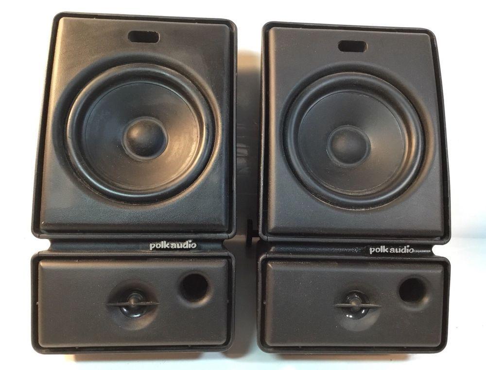 Polk Audio M Series M3ii Black Monitor Indoor Outdoor Speakers M3ii M3ii M311 Polk Audio Audio Ebay