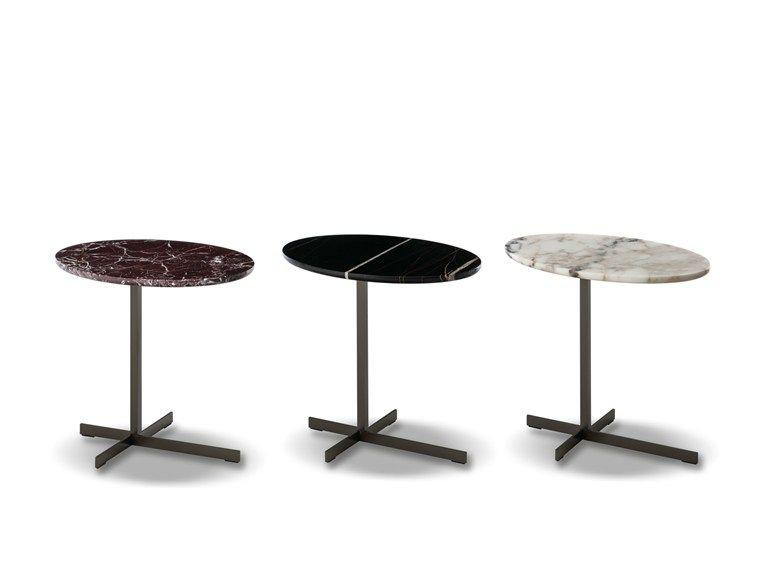 Tavolino Vassoio ~ Tavolino di servizio ovale in marmo joy u cjut outu d by minotti