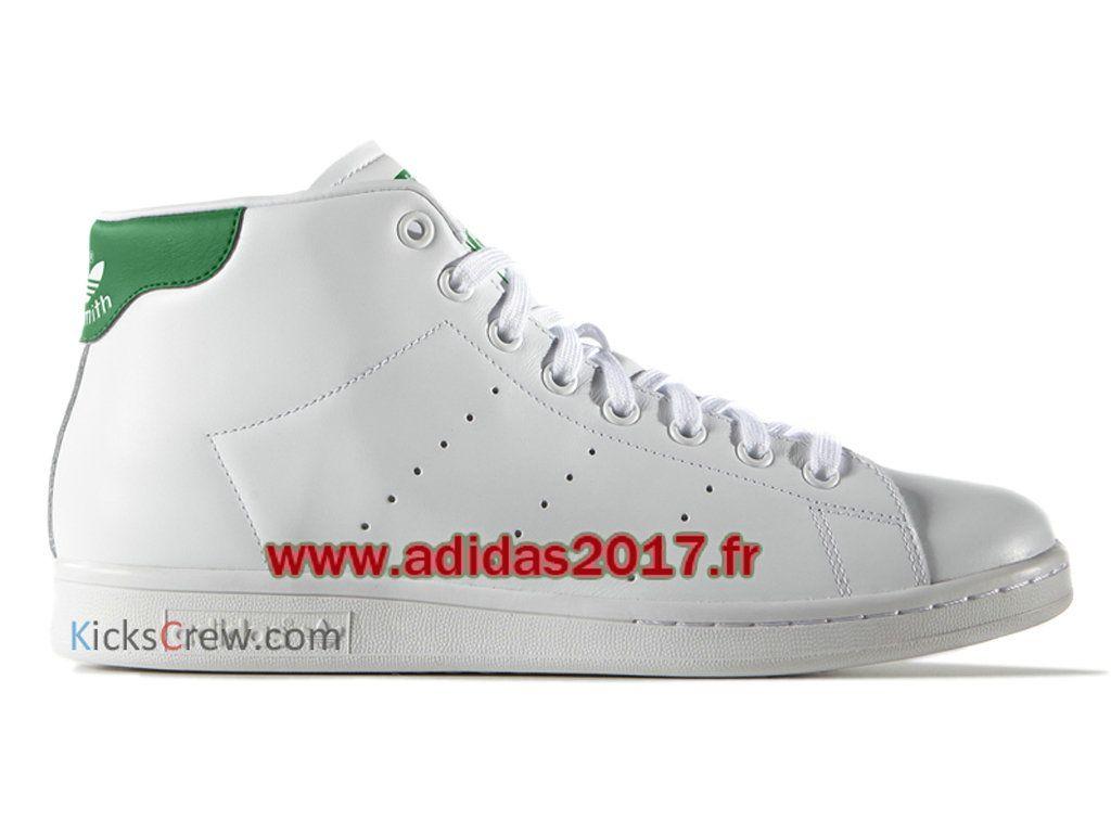 Adidas Stan Smith Mid - Chaussure Adidas Originals Pas Cher Pour Homme/Femme Blanc S75028