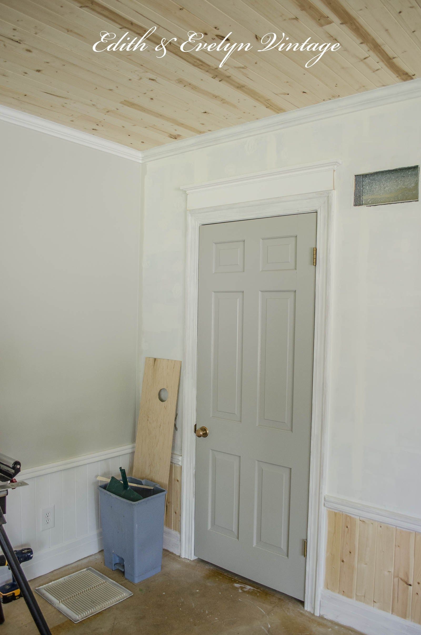 Crown Molding And Building Up The Door Frame From Edith