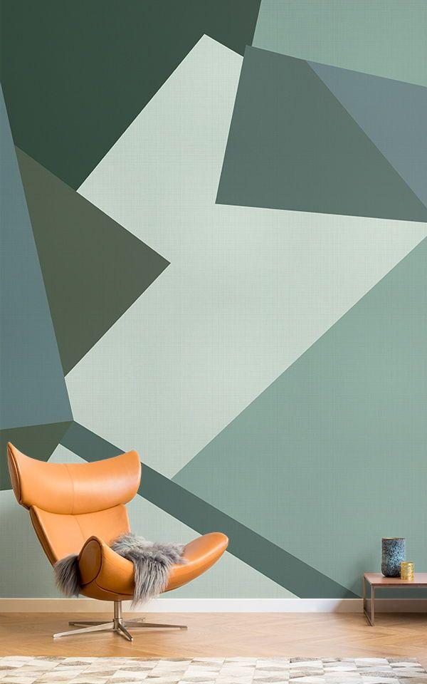 Klee Abstract Camo Wallpaper Mural