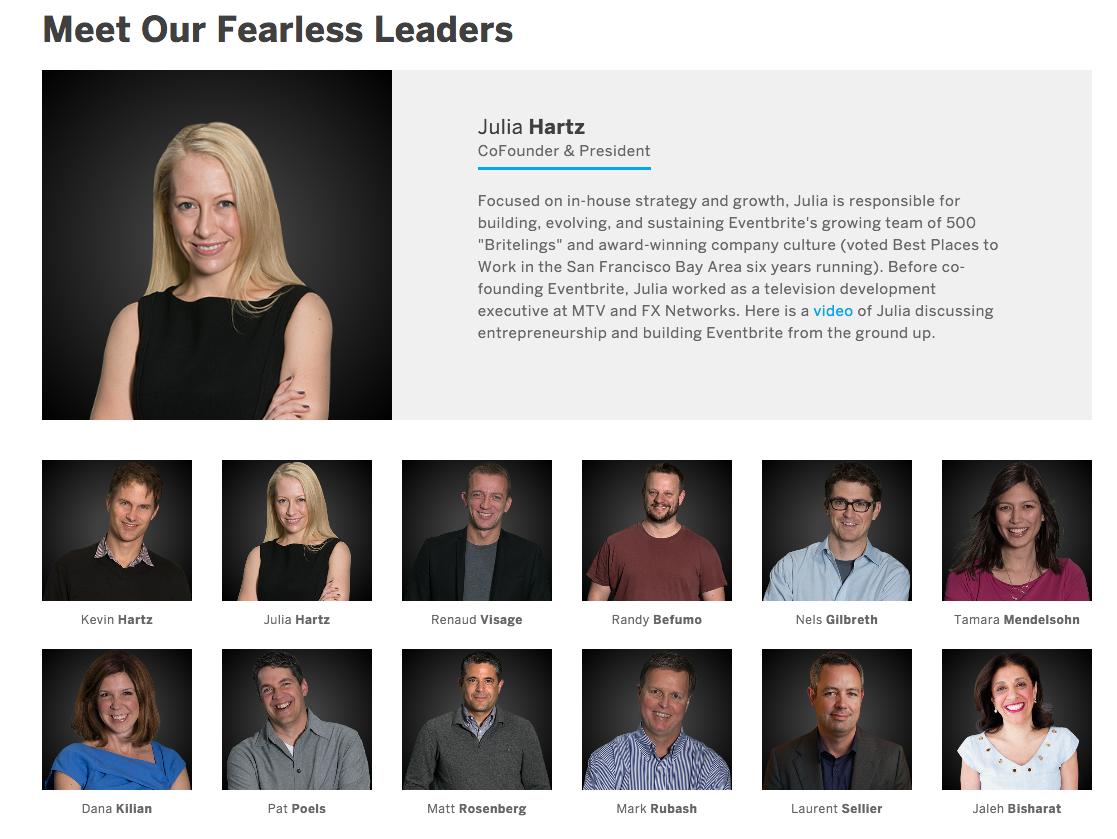 Team/leaders