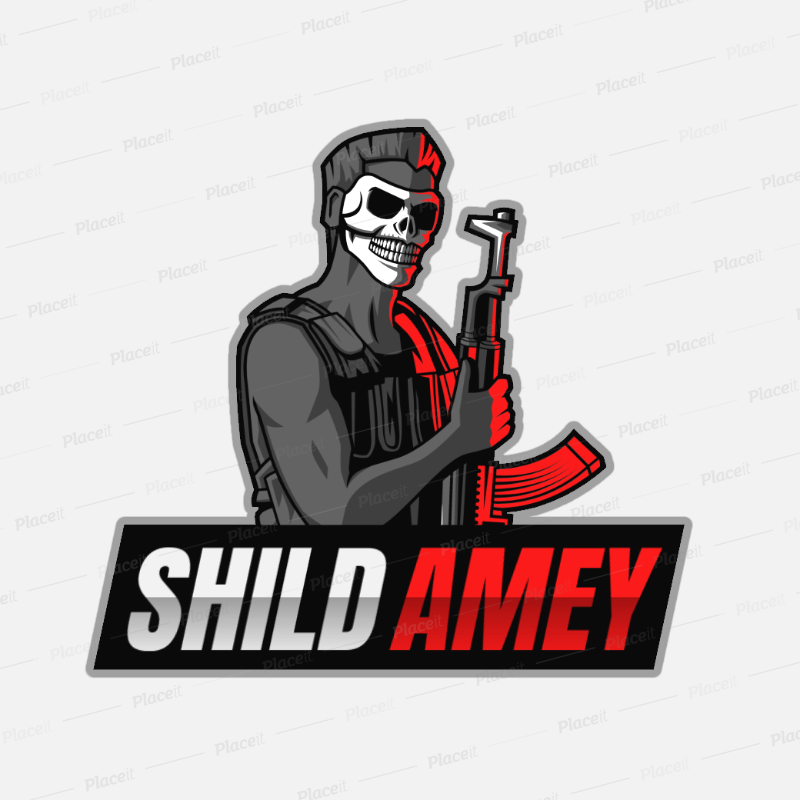 Pin by Amey Bhandare on Shild gaming in 2020 Logo maker
