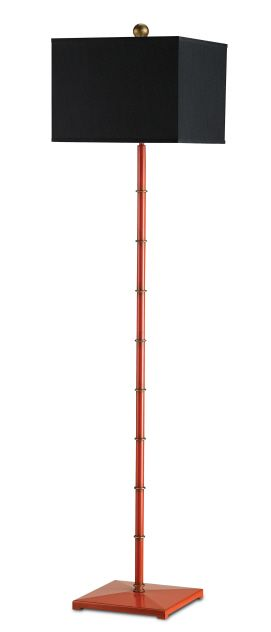 Currey And Company Manfred Floor Lamp Lollipop Red Floor Lamp Red Floor Lamp Lamp