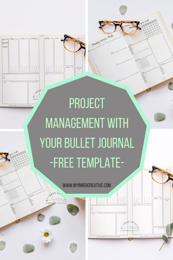 Project Management with Bullet Journaling (Free Template) Getting