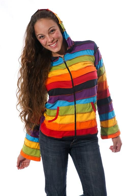 Colourful winter hoodie available at https://www.himalayanhandmades.co.za