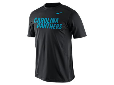 Nike Pro Combat Hypercool Fitted Speed 3 (NFL Panthers) Men's Shirt