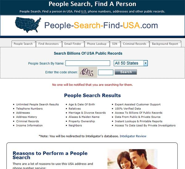 People Search Find Usa Com Is A Powerful People Search That You