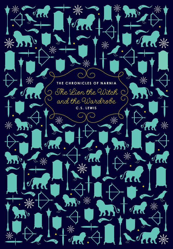 The Lion The Witch Amp The Wardrobe Book Cover Designed By