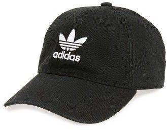 09a89448c6e Men s Adidas Originals Relaxed Baseball Cap - Black