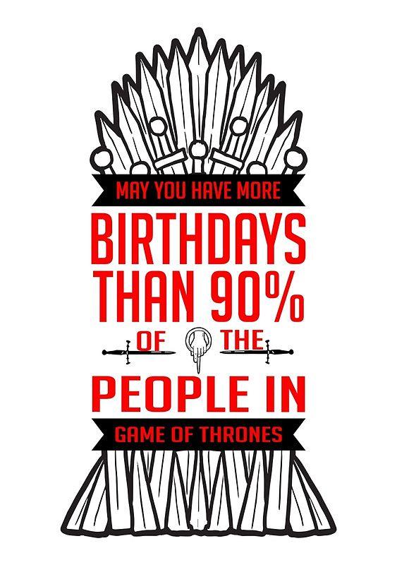 Birthdays Red By Strangebird2014 Game Of Thrones Birthday Game Of Thrones Cards Birthday Card Printable